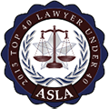 ASLA Top 20 Lawyer Under 40