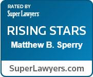 Matthew Super Lawyer Rising Star