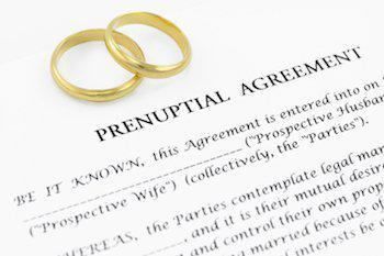prenuptial agreement image